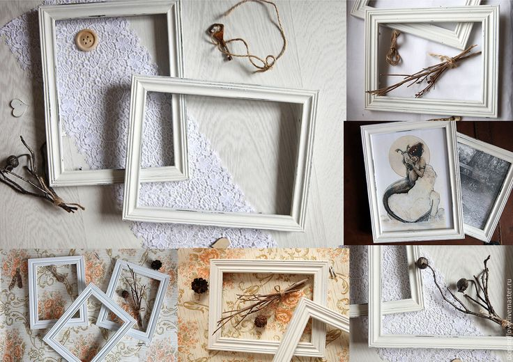 Photo frames SHABBY – shop online on Livemaster with shipping
