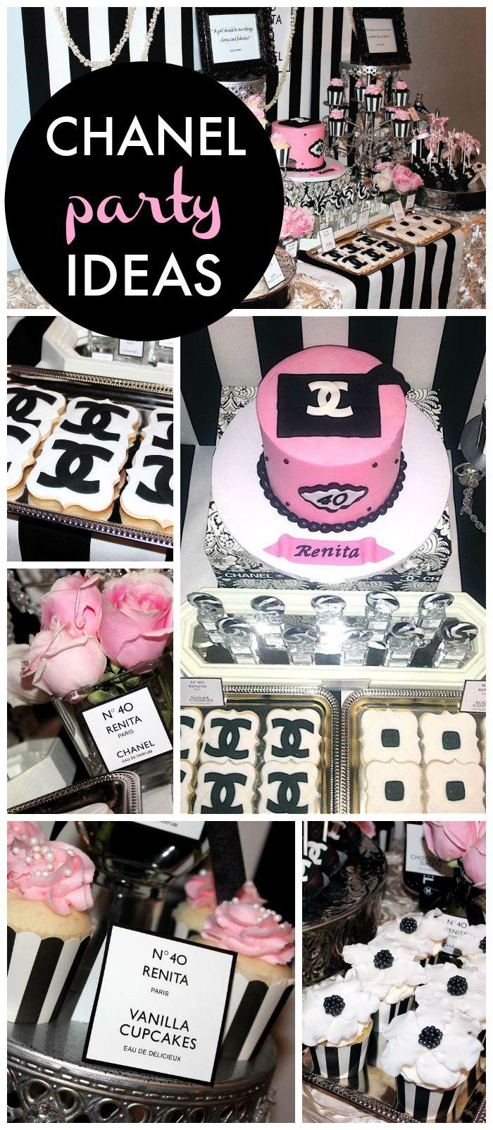 Coco Chanel Birthday Renitas 40th