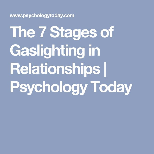 d relationship psychology