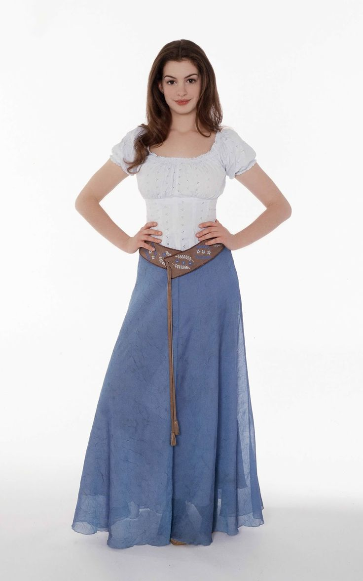Movie Posters: Anne Hathaway - Ella Enchanted Movie Stills 2004 Suki's costume she wants :)
