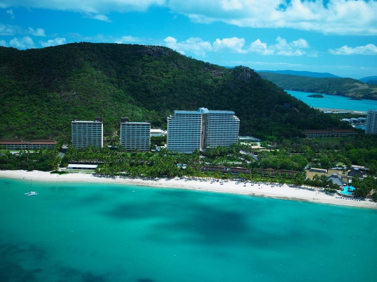 Hamilton Island Resort.  This is by far the most beautiful place on earth. www.whitsundayholidays.com.au