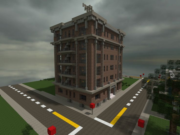 Minecraft Modern Apartment Building Destroybmx Com