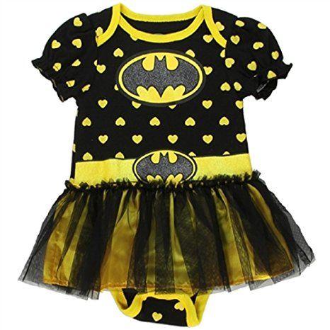 Batgirl Baby Girl Tutu Creeper (6-9 months)