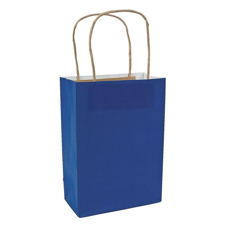 Blue+Medium+Craft+Bags+-+OrientalTrading.com