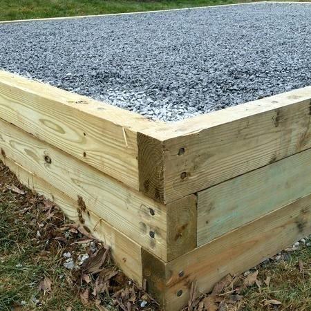Log Bed Frame With Storage