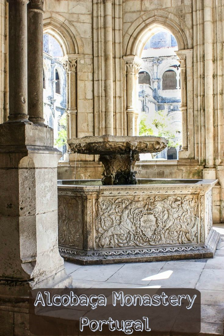 This Renaissance water basin is one of many photos highlighting the Monastery of Alcobaca, Portugal's first and largest Gothic church. via @Rhondaalbom