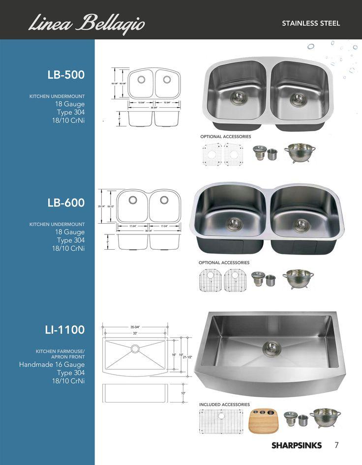 ESI SharpSinks Catalog Pg 7 Stainless Steel Sinks