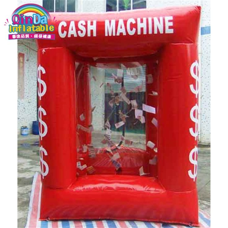 473.10$  Buy here - http://alisyc.worldwells.pw/go.php?t=32730448452 - 2016 One of the hot cake inflatable promotion toys inflatable money machine with two blowers 473.10$