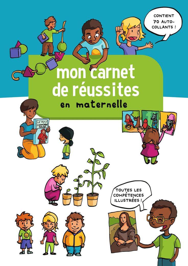 Ce carnet de réussite illustré, conçu par l'équipe d'Edumoov.com, accompagne l'enfant tout au long de sa scolarité en maternelle. Il l'aide à prendre conscience de ses progrès et valorise ses réussites.