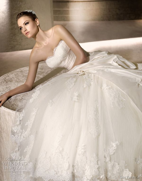 San Patrick 2012 Advance bridal collection.