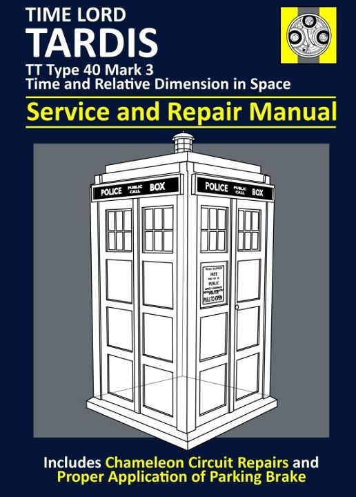 "Tardis ""Service and Repair Manual"""