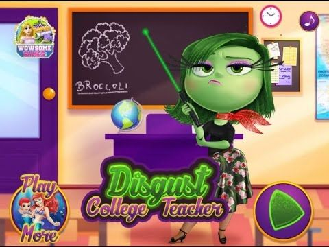 Inside Out - Disgust College Teacher - Game Tutorial 2016