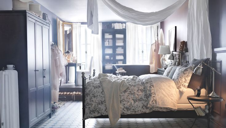 Make every day feel like a getaway. Create a romantic retreat with delicate patterns, beautiful storage, and an elegant getting-ready station.