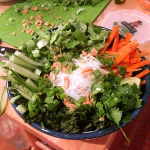 Foodie vs. Cancer: Thug kitchen's Vietnamese salad