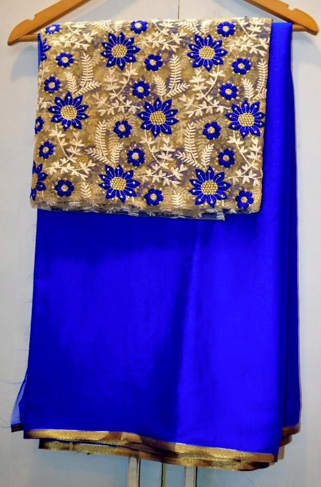 Latest Sarees With Designer Blouses #latest #sarees #designer #blouse