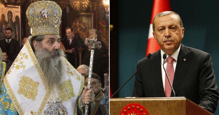 Ο Πειραιώς Σεραφείμ καλεί Ερτογάν να γίνει Χριστιανός με νονό τον Πούτιν