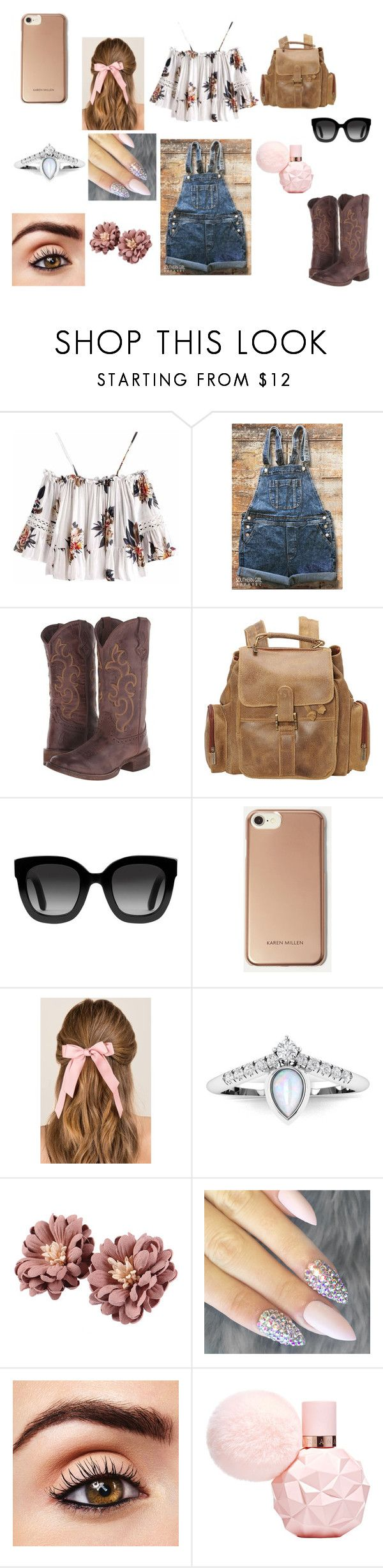 """Fair Grounds"" by paytenheine ❤ liked on Polyvore featuring Roper, Le Donne, Gucci, Karen Millen and Francesca's"