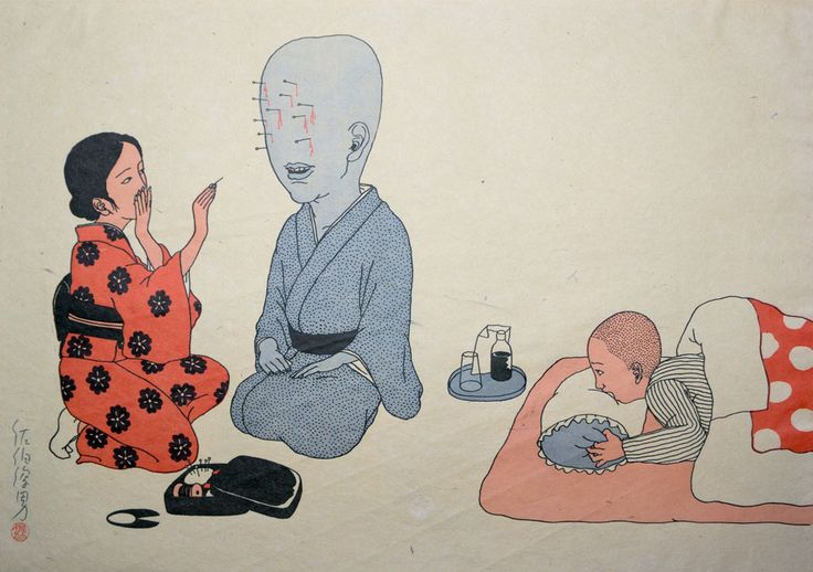 Maboroshimakura by Toshio Saeki, The Godfather of Japanese Eroticism