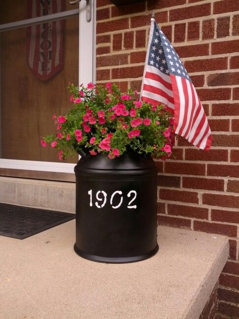 25 best ideas about antique milk can on pinterest old for Repurposed milk cans