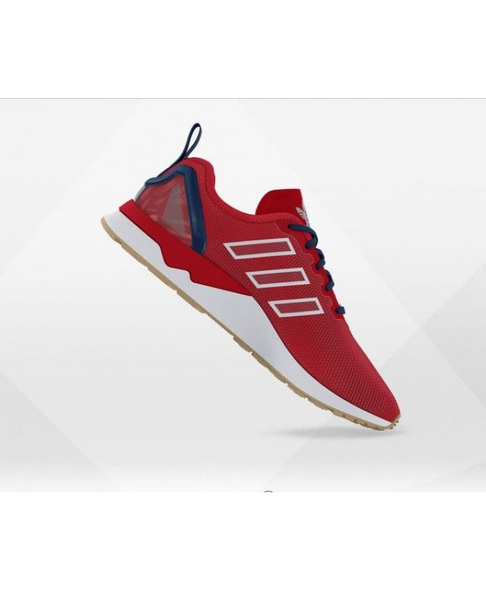 pretty nice ef620 ab86d Adidas Zx Flux Adv Mens Mesh Collegiate Red Shoes