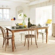 Petersham Zinc Topped Dining Table