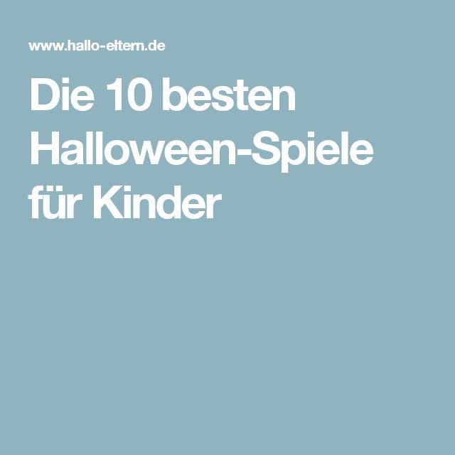 Die 10 besten Halloween-Spiele für Kinder