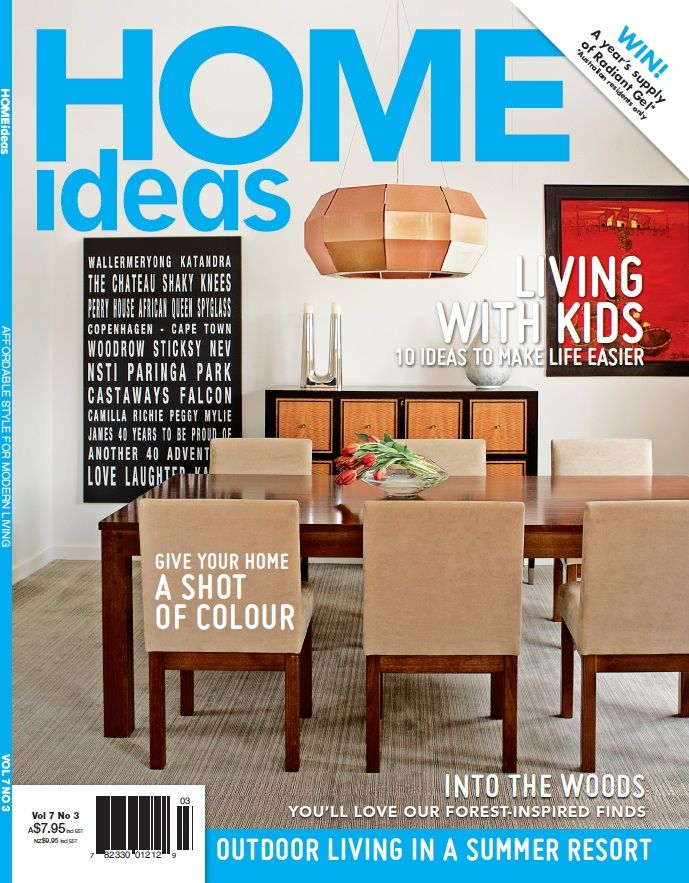 Check out our feature from Home Ideas Magazine, Vol 7 Issue 3! #bamboo #modernhome #press