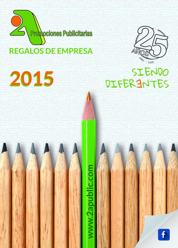 Portada 2A Catálogo 2015  - 25 Aniversario