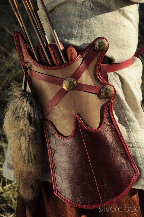 Mongolian arrow quiver and bowcase :)
