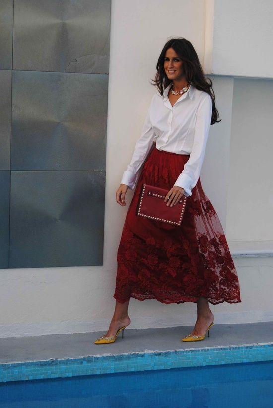 INSPIRACIONES en Blanco y Rojo: invitadas y novias ATENTAS!