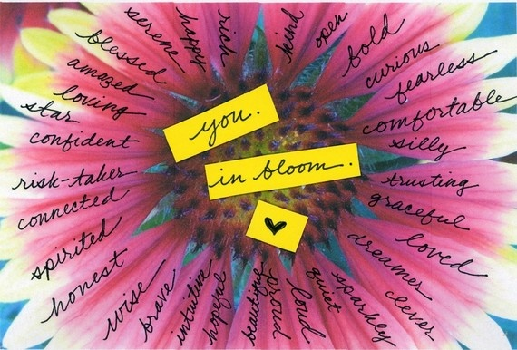 Love this! Just like the wonders of nature, you can bloom. #SavortheSeasons www.julielichty.com