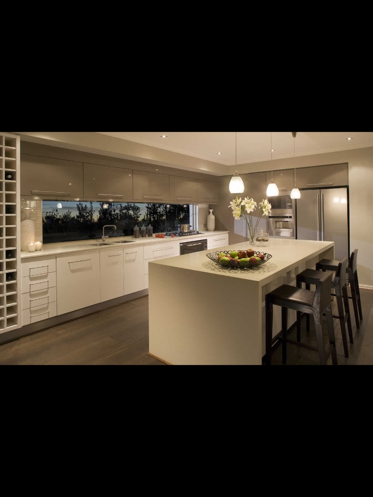 AAAAA lovely window with storage above! Kitchen Metricon.com
