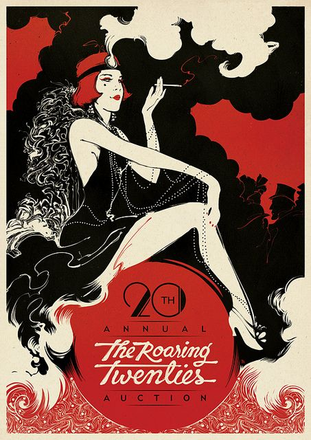 Boris Pelcer   The Roaring Twenties : Poster by Boris Pelcer, via Flickr