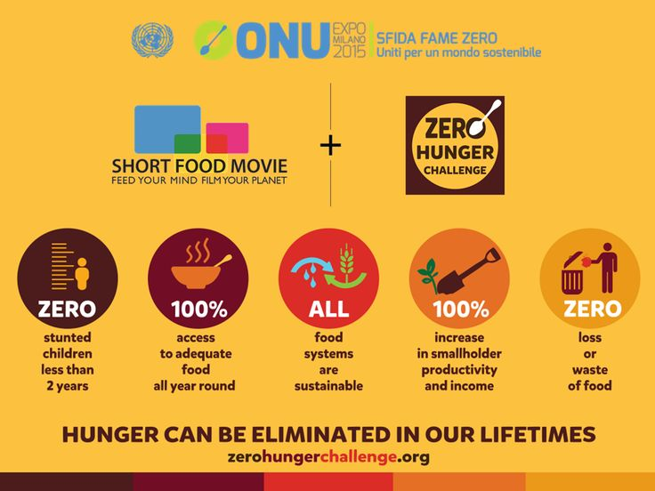 Share your thoughts on the Zero Hunger Challenge - make a short film and submit it to the @Expo2015Milano Short Food Movie contest! http://shortfoodmovie.expo2015.org/