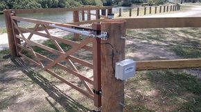 Solar Powered Gate Opener and gate package deal | Solar Powered Electric Gates