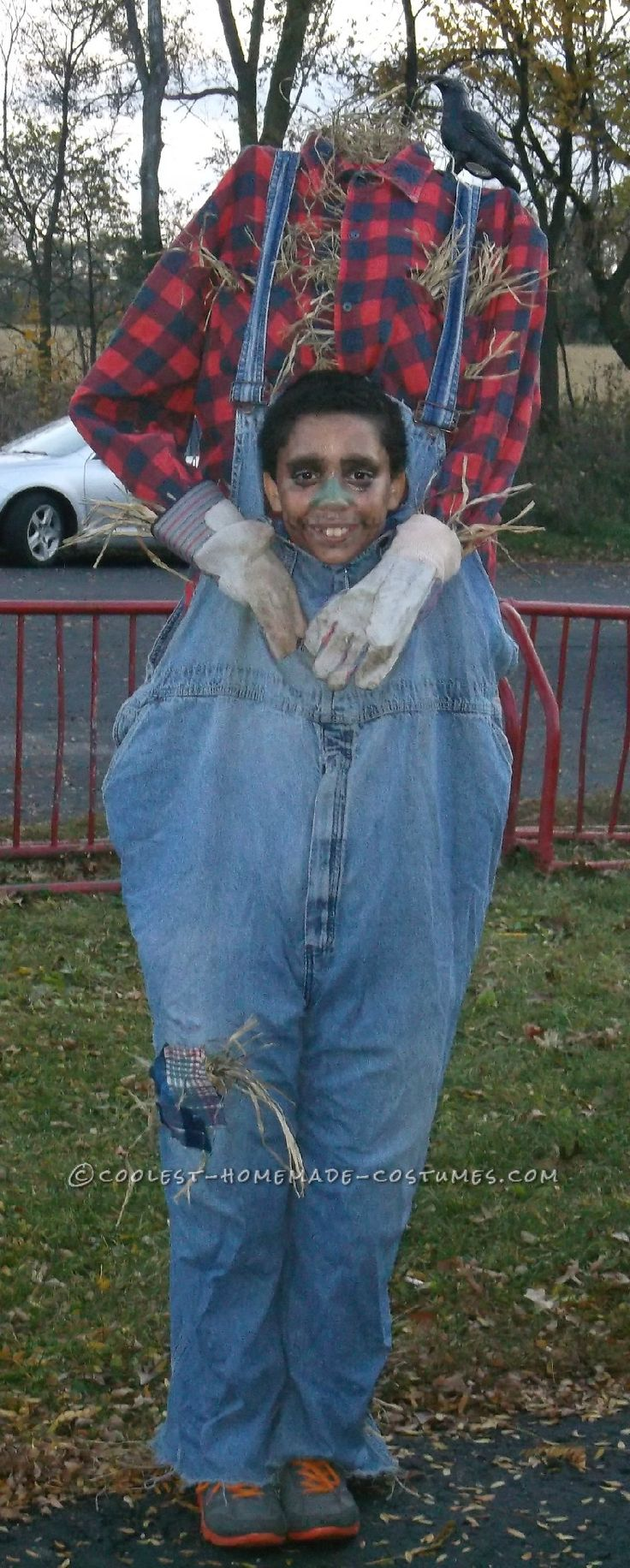 Headless Costume: Scarecrow Gone to the Birds!... Coolest Halloween Costume Contest