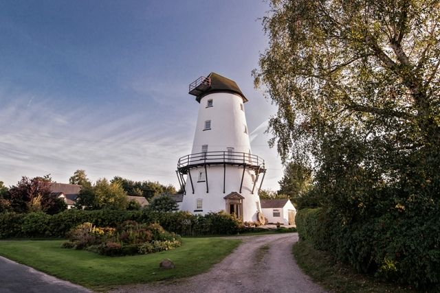 Beautifully presented converted windmill for sale in Lancashire
