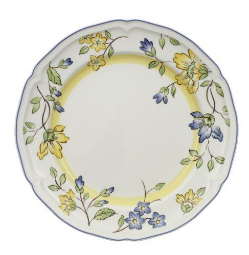 Toscana Dinner Plate 10 in. - The Toscana Dinner Plate 10 in. is part of Villeroy and Boch\u0027s Toscana pattern.Embrace the zeal of spring all year \u0027round with ...  sc 1 st  Pinterest & 22 best Home \u0026 Kitchen - Plates images on Pinterest | Dishes ...