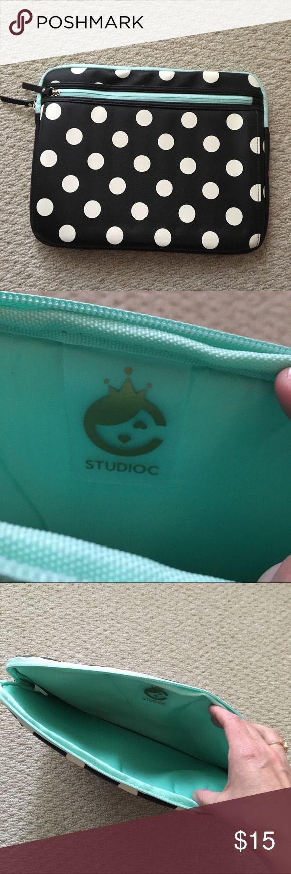 New Laptop Pouch by Studioc Black laptop pouch by …