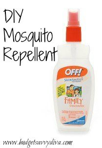 How to Make Your Own Mosquito Repellent - So easy!