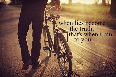 our love's the only truth