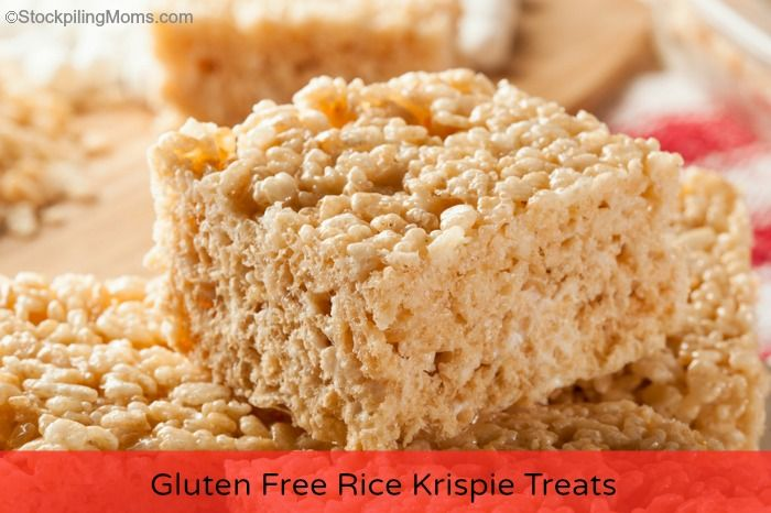 Gluten Free Rice Krispies Treats - use Nature's Path Crispy Rice Cereal as Rice Krispies no longer come in GF.