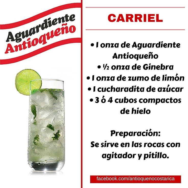 ¡Aguardiente Antioqueño combina con todo! #Aguardiente #Antioqueño #Coctel #Cocktail #Carriel