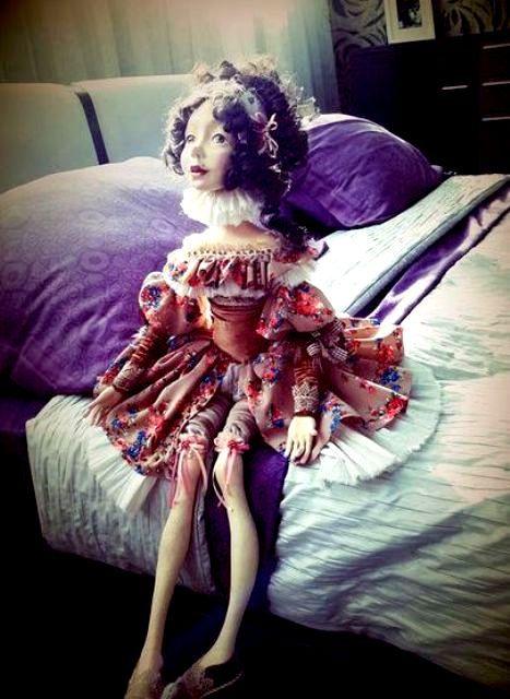 Будуарные куклы. История создания, развития и популярности.