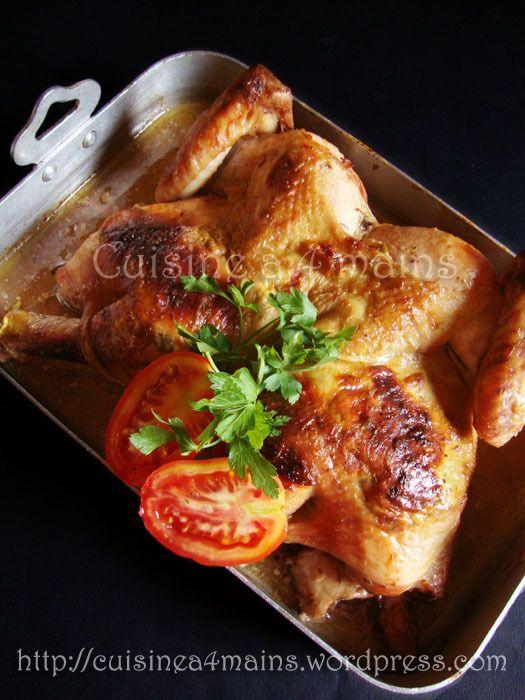 poulet roti 4 - cuisine à 4 mains