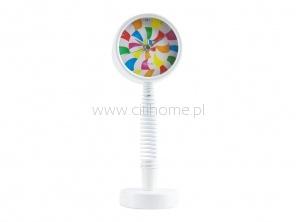Budzik na sprężynowej nodze WANTED Lollypop biały  http://www.citihome.pl/budzik-na-sprezynowej-nodze-wanted-lollypop-bialy.html