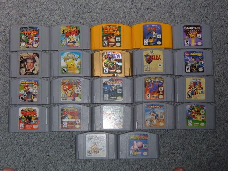 Nintendo 64 Games I Have Fun Playing And With My Dad Too FUN Pinterest