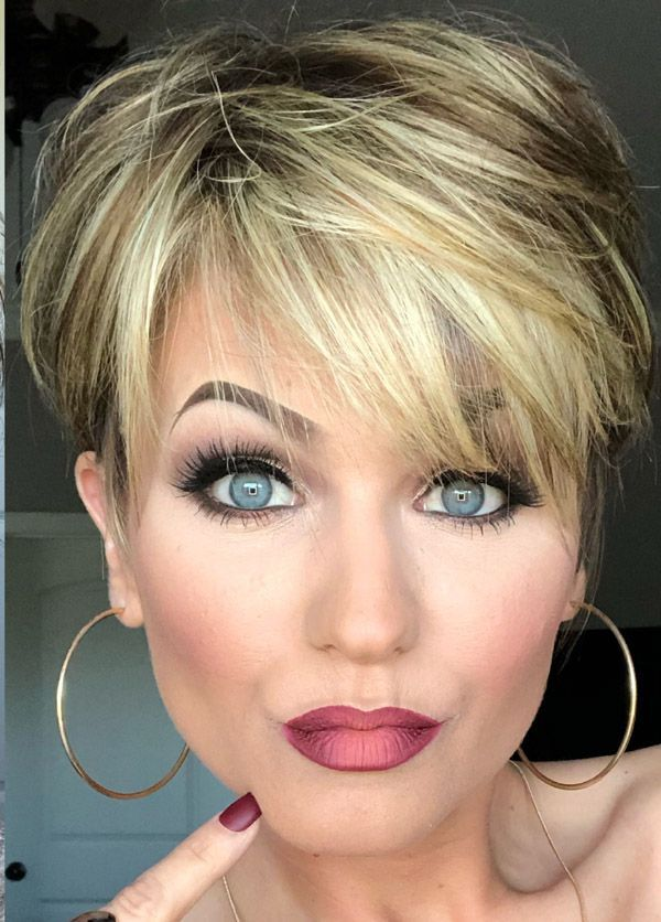 Trending Hairstyles 2019 - Short Layered Hairstyles - EveSteps