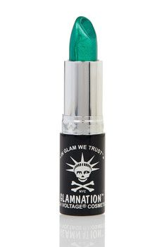 Manic Panic High Voltage Lethal Lipstick - Green Envy