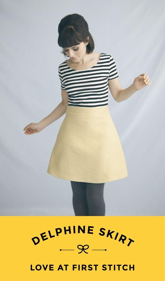 13 besten Tilly and the Buttons Delphine Skirt Bilder auf Pinterest ...